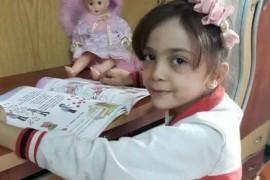 叙利亚七岁小女孩直播战争,网友心痛